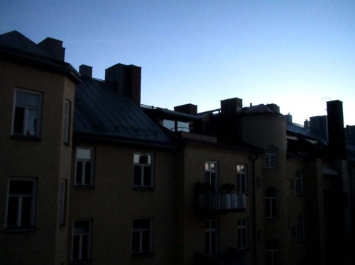 Natt Stockholm 1.30 22 juni